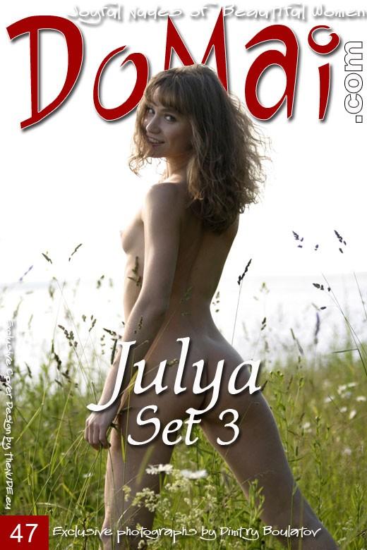 Julya - `Set 3` - by Dmitry Boulatov for DOMAI