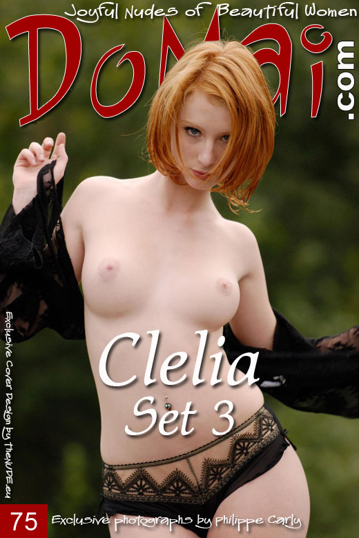 Clelia in Set 3 gallery from DOMAI by Philippe Carly