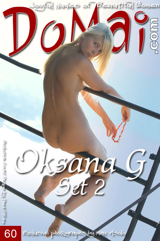 Oksana G in Set 2 gallery from DOMAI by Max Asolo