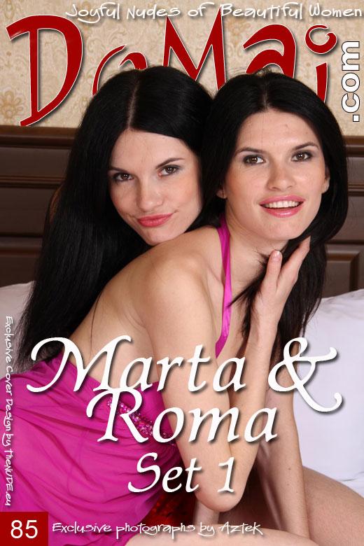 Marta & Roma - `Set 1` - by Aztek for DOMAI