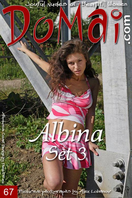 Albina - `Set 3` - by Alexander Lobanov for DOMAI