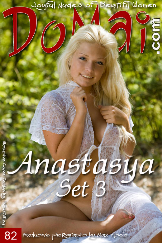 Anastasya - `Set 3` - by Max Asolo for DOMAI