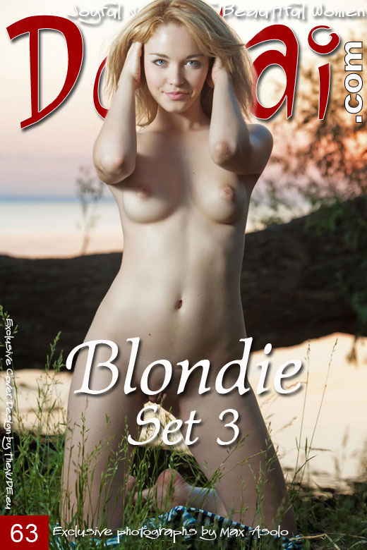 Blondie - `Set 3` - by Max Asolo for DOMAI
