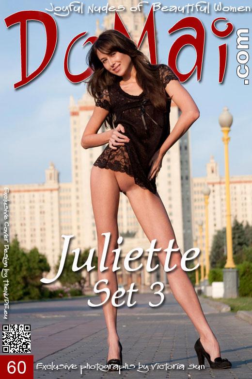 Juliette - `Set 3` - by Victoria Sun for DOMAI