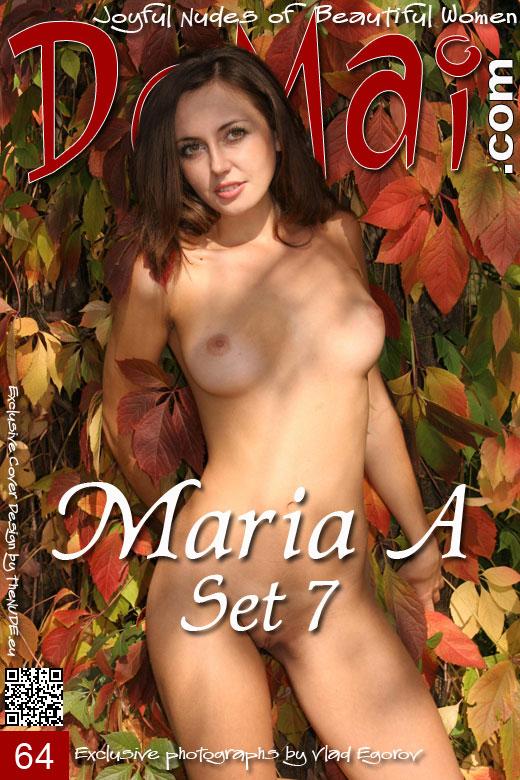 Maria A - `Set 7` - by Vlad Egorov for DOMAI