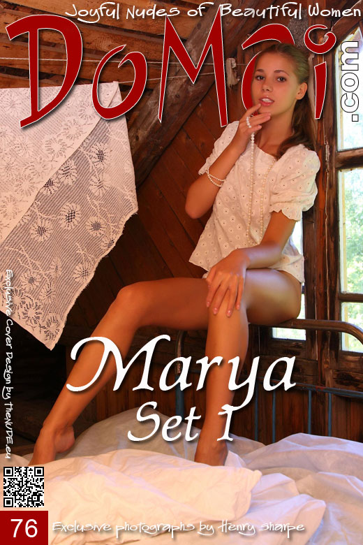 Marya - `Set 1` - by Henry Sharpe for DOMAI