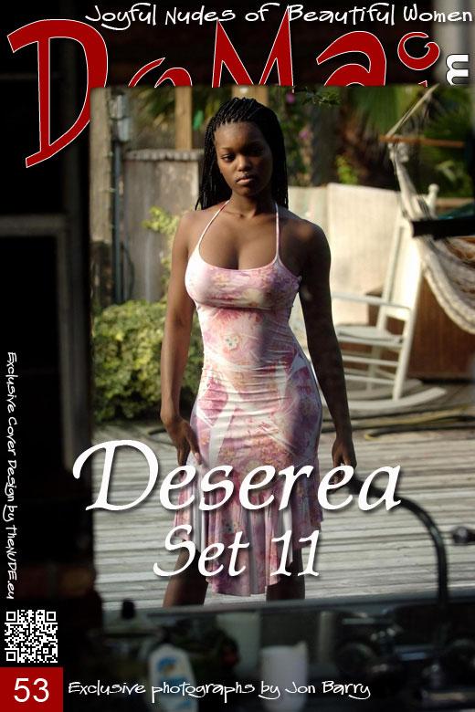 Deserea - `Set 11` - by Jon Barry for DOMAI