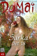 Sarka in Set 18 gallery from DOMAI by Charles Hollander