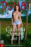 Callista Simon in Set 1 gallery from DOMAI by Matiss