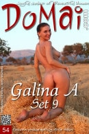 Galina A in Set 9 gallery from DOMAI by Anton Volkov