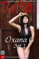 Oxana C in Set 1 gallery from DOMAI by Lobanov