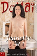 Jeanette in Set 1 gallery from DOMAI by Nick Twin