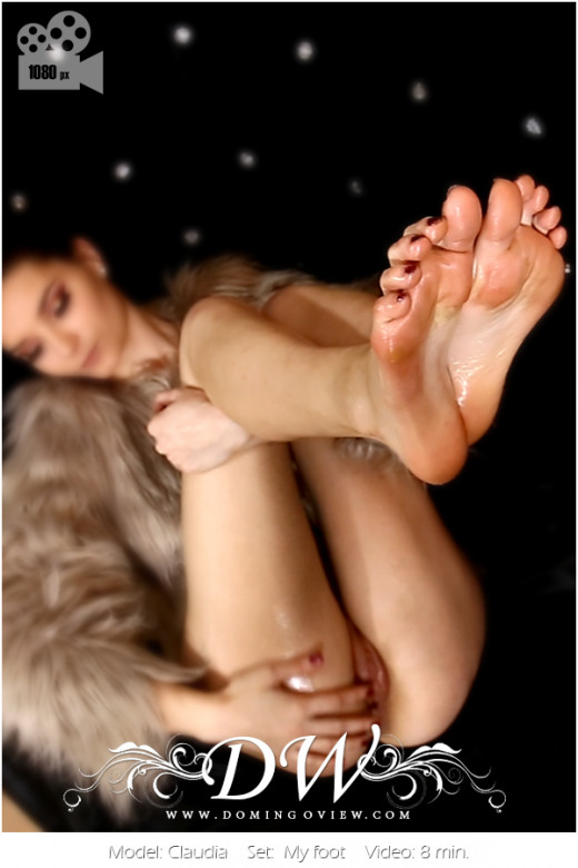 Claudia - `My Foot` - by Domingo for DOMINGOVIEW