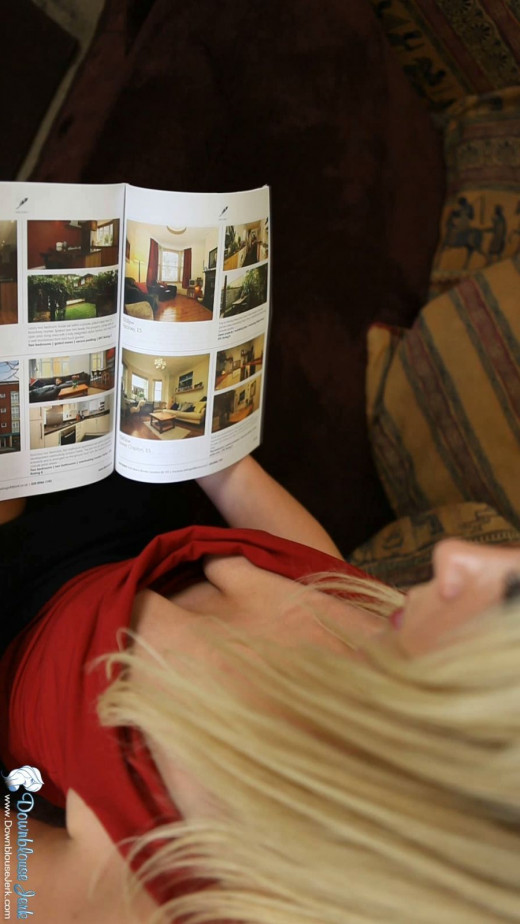 Ashleigh - `Nippy Magazine` - for DOWNBLOUSEJERK