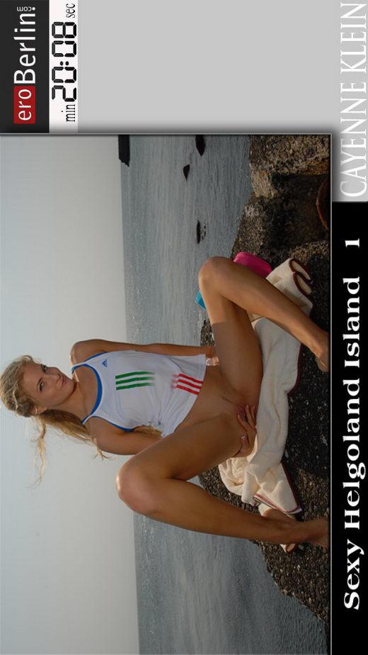 Cayenne Klein in Sexy Helgoland Island 1 video from EROBERLIN