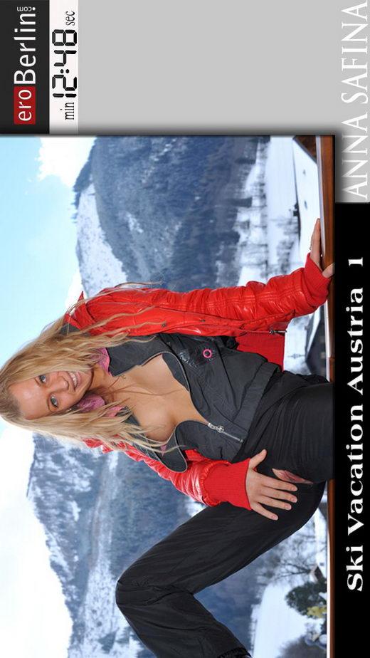 Anna Safina - `Ski Vacation Austria 1` - for EROBERLIN