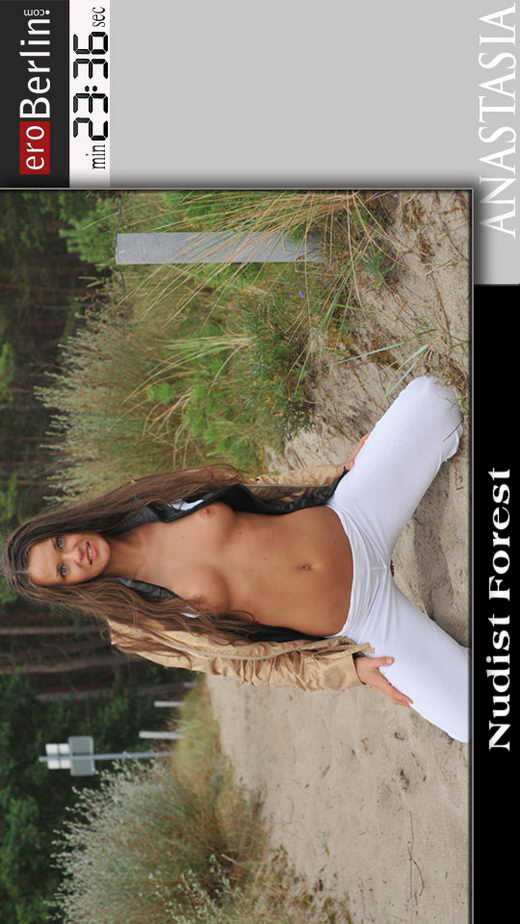 Anastasia - `Nudist Forest` - for EROBERLIN