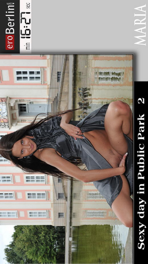 Maria - `Sexy Days in Public Park 2` - for EROBERLIN