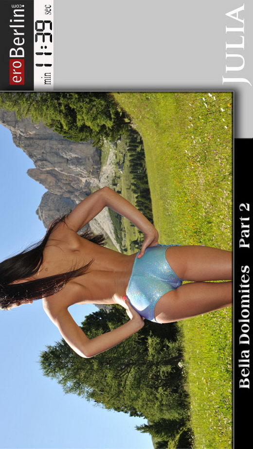Julia - `Bella Dolomites - Part 2` - for EROBERLIN