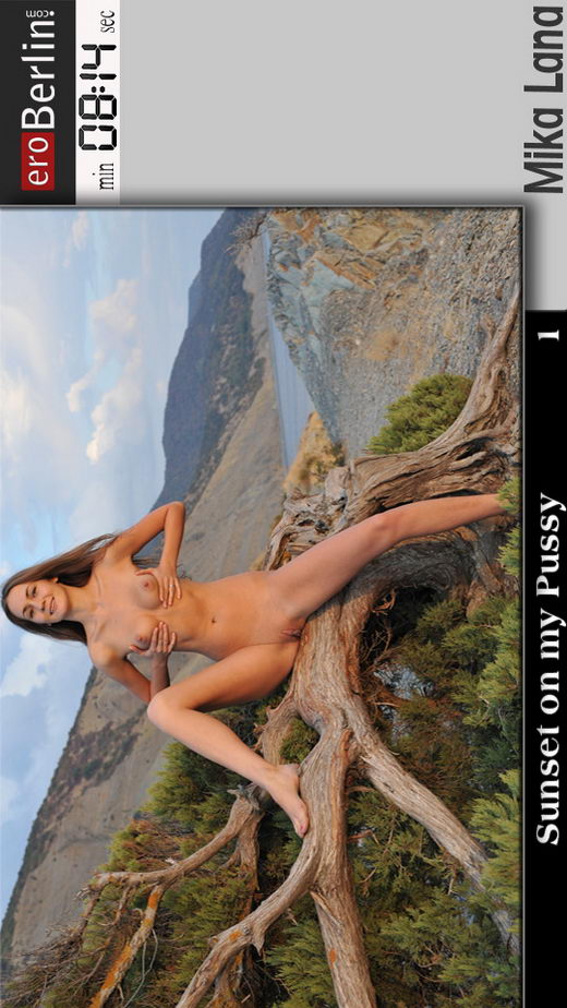 Mika Lana - `Sunset on my Pussy 1` - for EROBERLIN