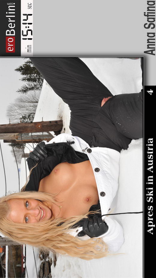 Anna Safina - `Apres Ski in Austria` - for EROBERLIN