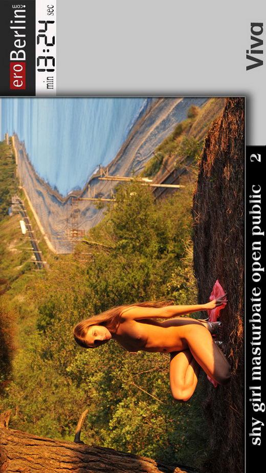 Viva - `Shy Girl Masturbation Open Public 2` - for EROBERLIN