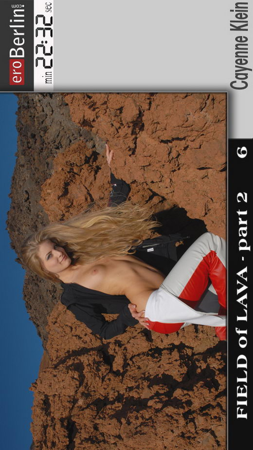 Cayenne Klein - `Field of Lava 2` - for EROBERLIN