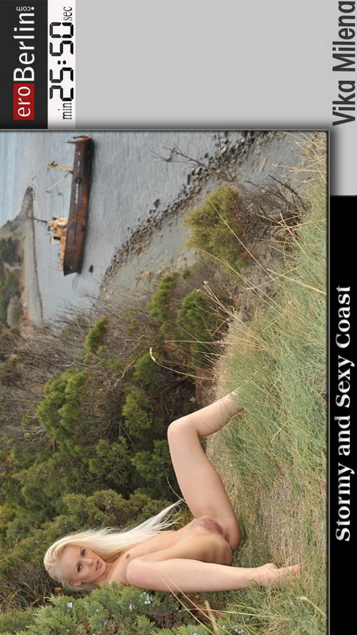 Vika Milena - `Stormy and Sexy Coast` - for EROBERLIN