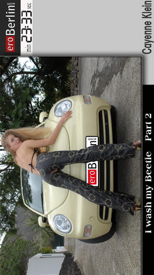 Cayenne Klein - `I Wash my Beetle - part 2` - for EROBERLIN
