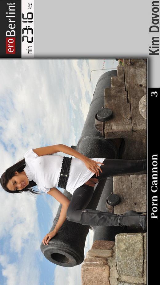 Kim Davon - `Porn Cannon` - for EROBERLIN