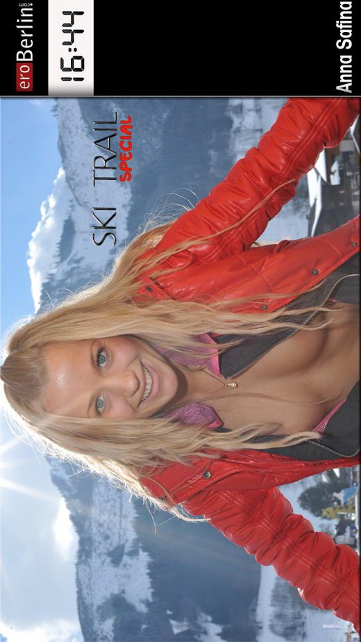 Anna Safina - `Ski Trail` - for EROBERLIN