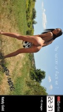 Play soccer or fuck me?
