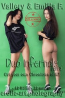 Vallery & Emilia F in Duo Infernale - Part 3 gallery from EROTIC-ART by JayGee