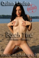 Quinn Linden in Beach Time gallery from EROTIC-ART by JayGee