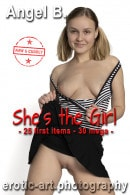 Angel B in She's The Girl gallery from EROTIC-ART by JayGee
