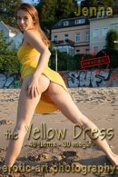 Jenna in The Yellow Dress gallery from EROTIC-ART by JayGee