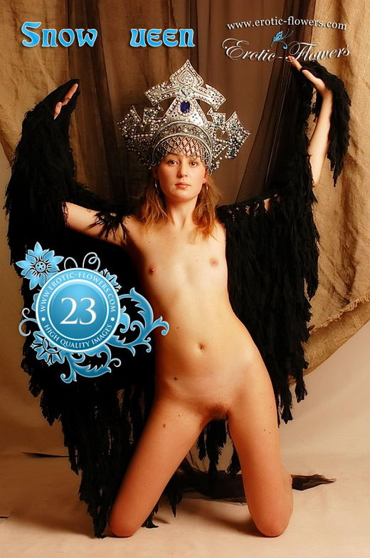 Mlada - `Snow Queen` - for EROTIC-FLOWERS