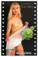 Christina in White Bedgown gallery from EROTIC-FLOWERS