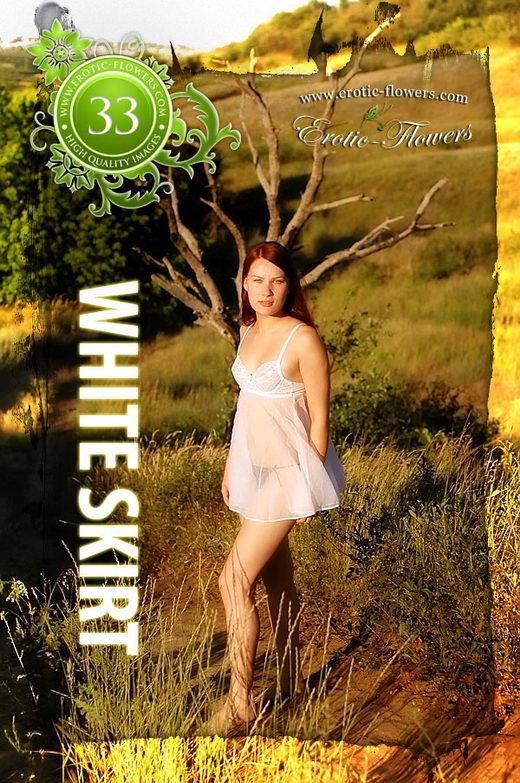 Pelageya - `White Skirt` - for EROTIC-FLOWERS