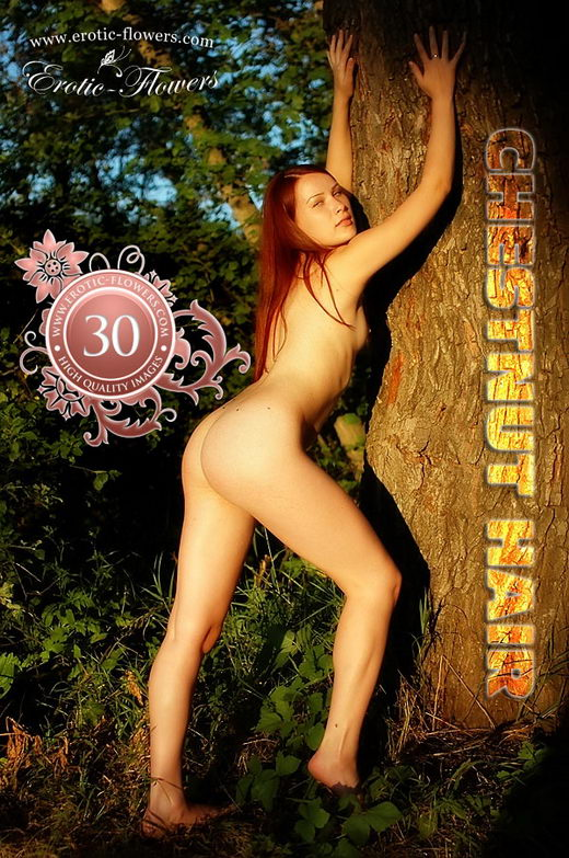 Pelageya - `Chestnut Hair` - for EROTIC-FLOWERS