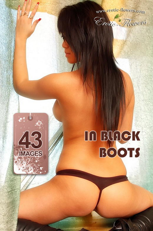 Maylin - `In Black Boots` - for EROTIC-FLOWERS