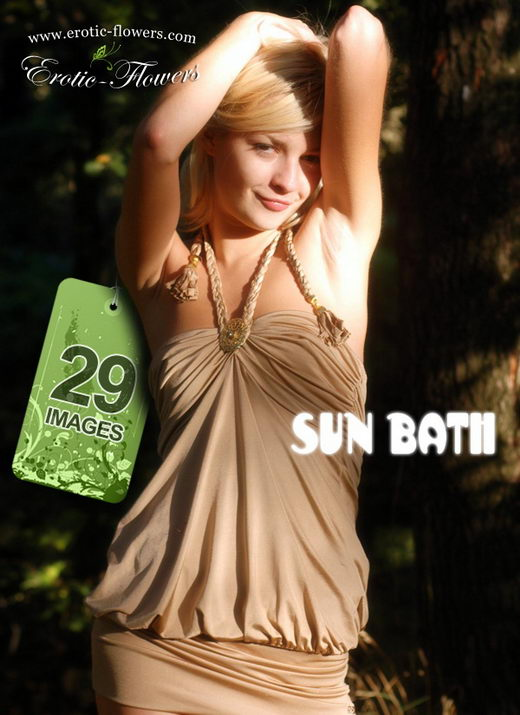 Carrie in Sun Bath gallery from EROTIC-FLOWERS