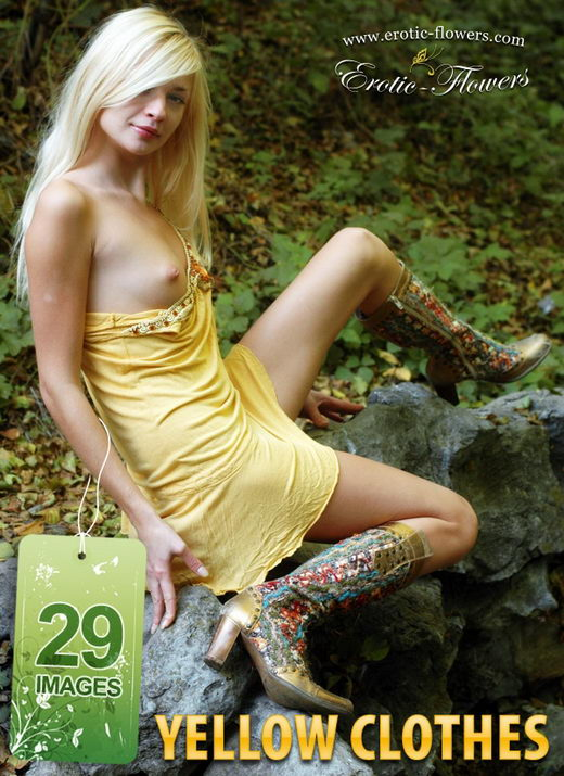 Carrie - `Yellow Clothes` - for EROTIC-FLOWERS