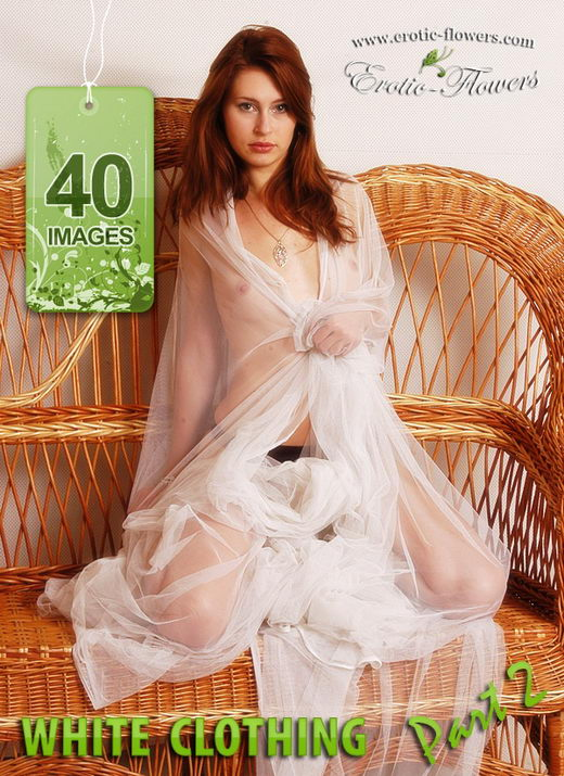 Julia - `White Clothing Part-2` - for EROTIC-FLOWERS