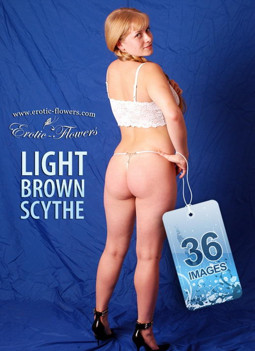 Ksenia - `Light Brown Scythe` - for EROTIC-FLOWERS