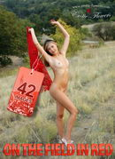 Janny in On The Field In Red gallery from EROTIC-FLOWERS