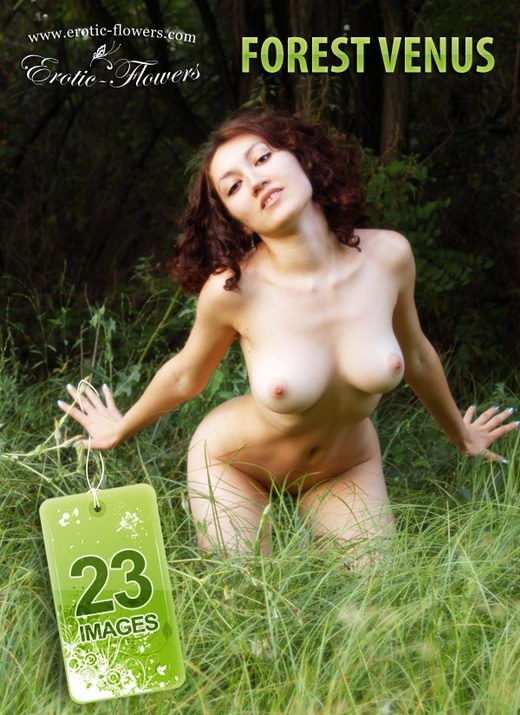 Krista - `Forest Venus` - for EROTIC-FLOWERS