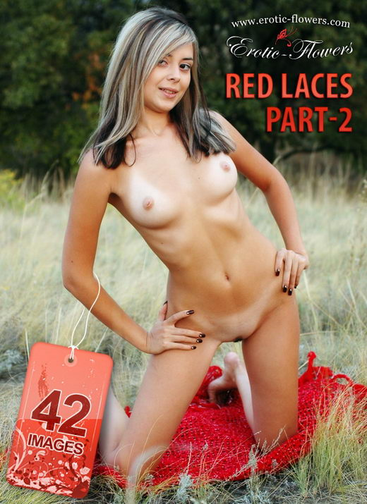 Janny - `Red Laces Part-2` - for EROTIC-FLOWERS
