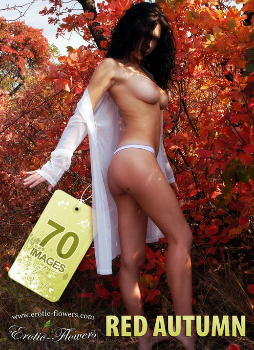 Sasha - `Red Autumn` - for EROTIC-FLOWERS