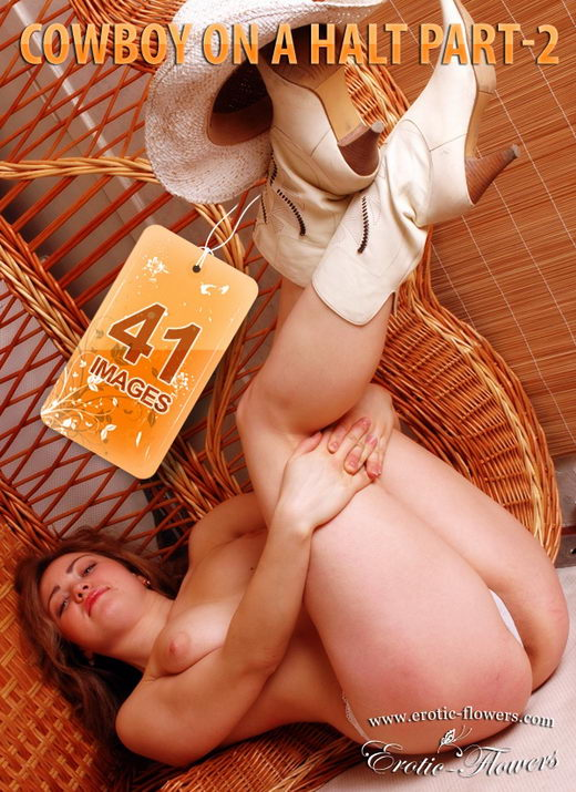 Glafira - `Cowboy On A Halt Part-2` - for EROTIC-FLOWERS